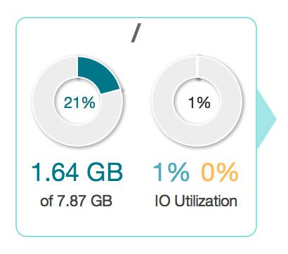 Newrelic Disk Space